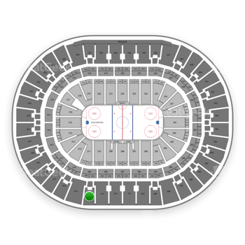 Anaheim Ducks at Honda Center Section 414 View