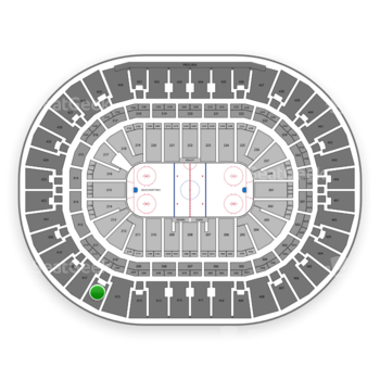 Anaheim Ducks at Honda Center Section 416 View
