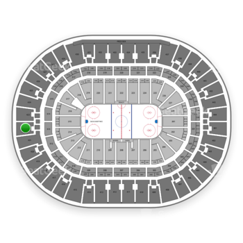 Anaheim Ducks at Honda Center Section 422 View