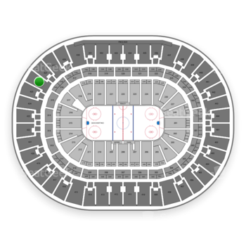 Anaheim Ducks at Honda Center Section 426 View