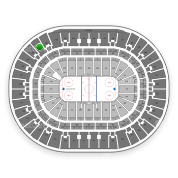 Anaheim Ducks at Honda Center Section 428 View