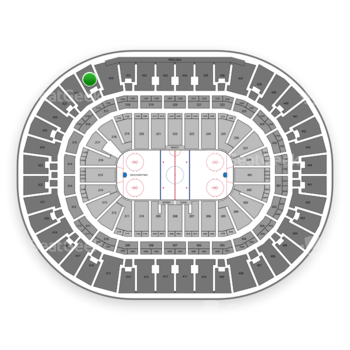 Anaheim Ducks at Honda Center Section 429 View