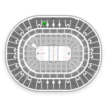 Anaheim Ducks at Honda Center Section 432 View