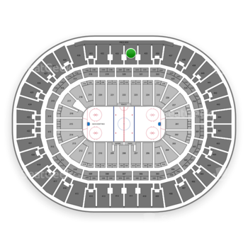 Anaheim Ducks at Honda Center Section 434 View