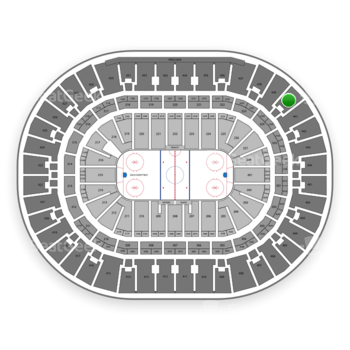 Anaheim Ducks at Honda Center Section 440 View