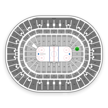 Anaheim Ducks at Honda Center Section 228 View