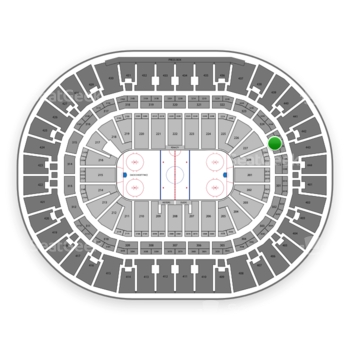 Anaheim Ducks at Honda Center Section 325 View