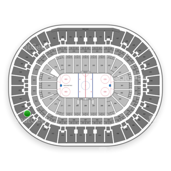 Anaheim Ducks at Honda Center Section 419 View