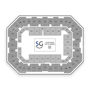 Baton Rouge River Center Arena Seating Chart Dance Performance Tour