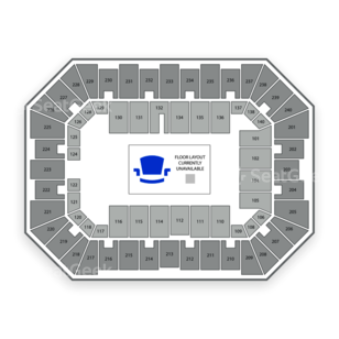 Baton Rouge River Center Arena Seating Chart Concert