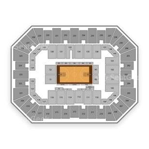 Baton Rouge River Center Arena Seating Chart Family