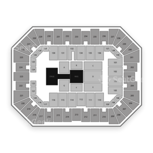 Raising Cane's River Center Seating Chart Wwe