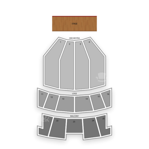 Peabody Auditorium Seating Chart Family