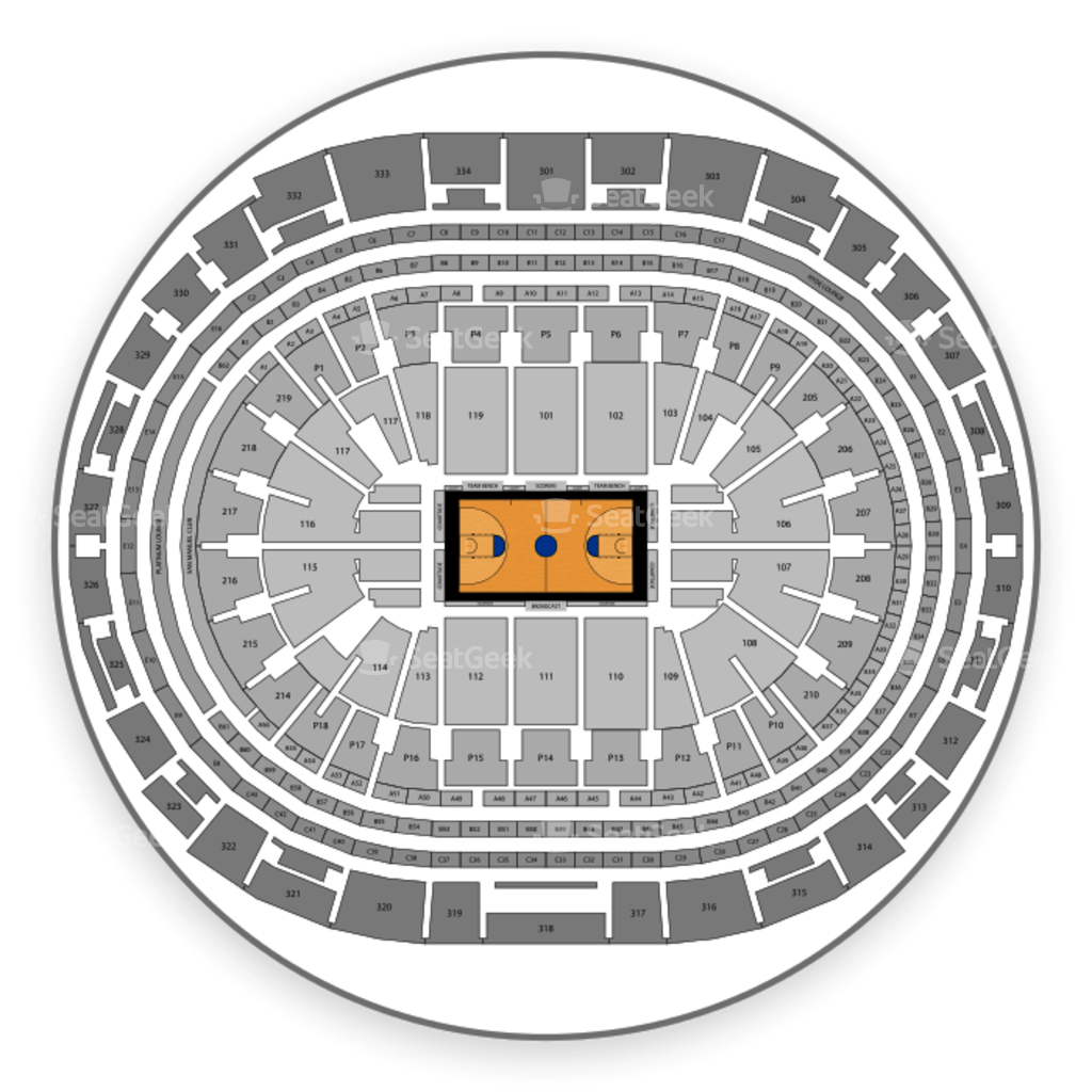 los angeles lakers interactive seating chart: Los angeles lakers seating chart interactive map seatgeek