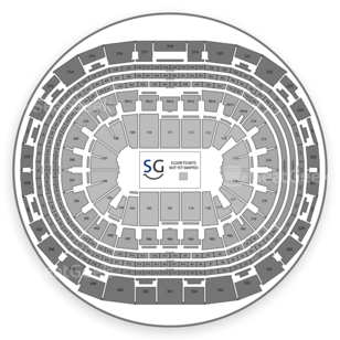 Staples Center Seating Chart Family