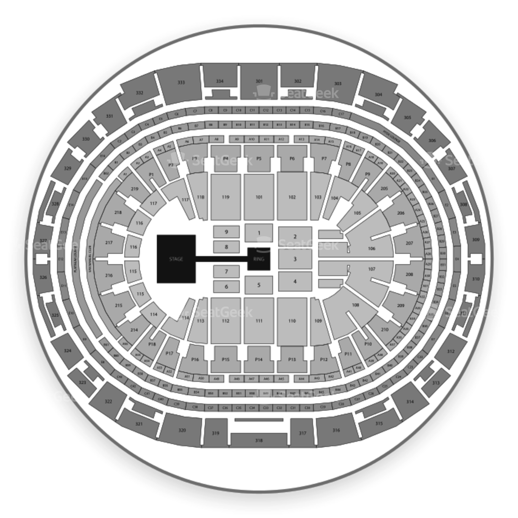 staples center seating chart interactive seat map seatgeek