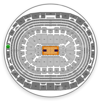 Los Angeles Lakers at Staples Center Section 310 View