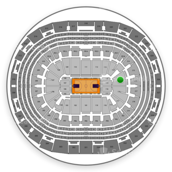 NBA at Staples Center Section 115 View