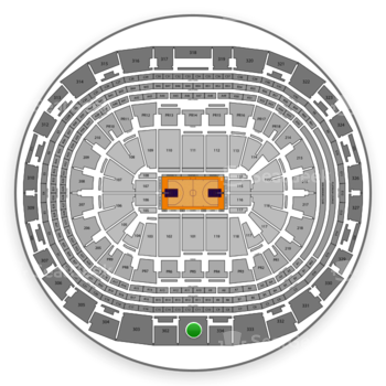 NBA at Staples Center Section 301 View