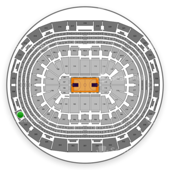 NBA at Staples Center Section 307 View