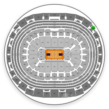 NBA at Staples Center Section 323 View