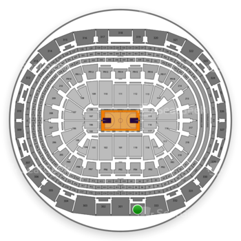 NBA at Staples Center Section 334 View