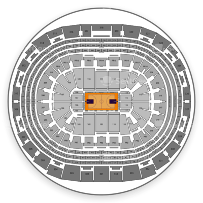 Staples Center seating chart Los Angeles Lakers