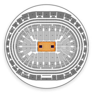 NBA All Star Game Seating Chart