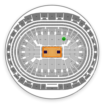 Los Angeles Lakers at Staples Center Section 103 View