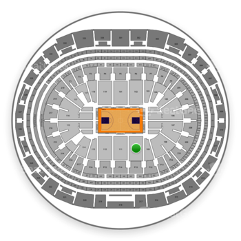 Staples Center Section 110 Seat Views | SeatGeek