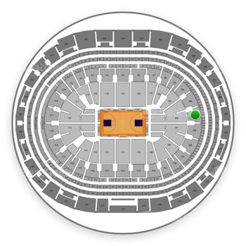 Los Angeles Lakers at Staples Center Section 207 View