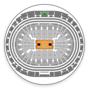 Los Angeles Lakers at Staples Center Section 301 View