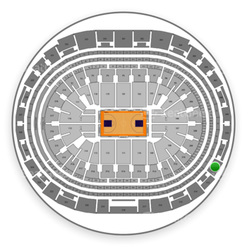 Los Angeles Lakers at Staples Center Section 312 View