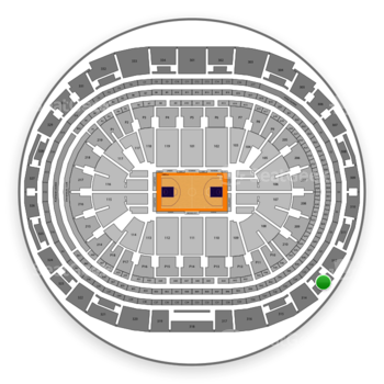 Los Angeles Lakers at Staples Center Section 313 View