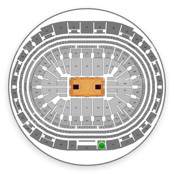 Los Angeles Lakers at Staples Center Section 317 View