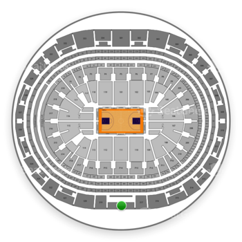 Los Angeles Lakers at Staples Center Section 318 View
