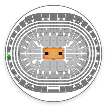 Los Angeles Lakers at Staples Center Section 326 View