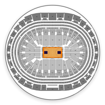 Los Angeles Lakers at Staples Center Section 6 View