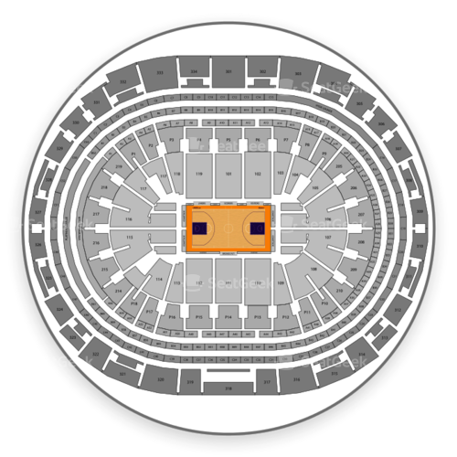 Los Angeles Lakers Seating Chart
