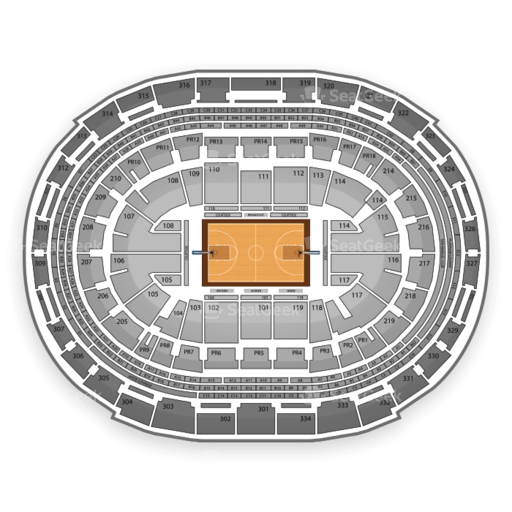 Los Angeles Sparks Seating Chart