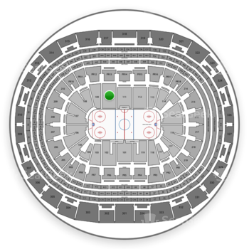 Los Angeles Kings at Staples Center Section 110 View