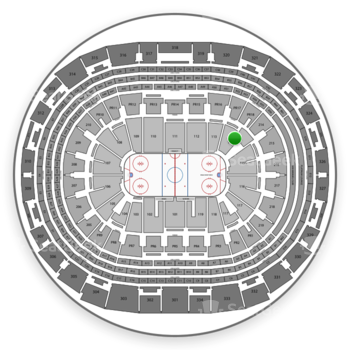 Los Angeles Kings at Staples Center Section 114 View