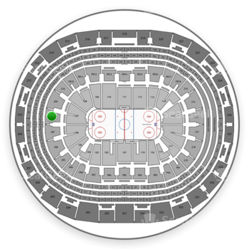 Los Angeles Kings at Staples Center Section 208 View