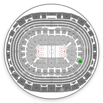 Los Angeles Kings at Staples Center Section 218 View