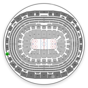 Los Angeles Kings at Staples Center Section 308 View