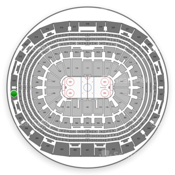 Los Angeles Kings at Staples Center Section 309 View