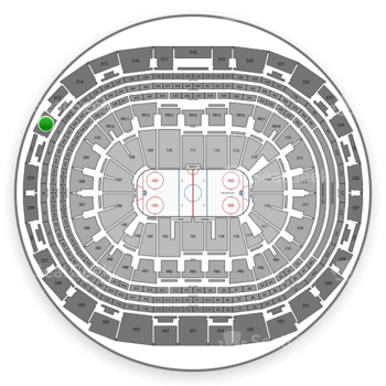 Los Angeles Kings at Staples Center Section 312 View