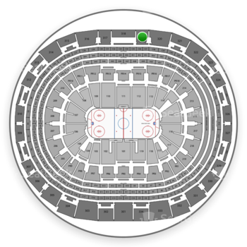 Los Angeles Kings at Staples Center Section 319 View