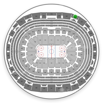 Los Angeles Kings at Staples Center Section 321 View