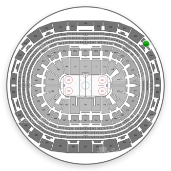 Los Angeles Kings at Staples Center Section 323 View